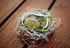 Bird's nest centerpieces offer a sweet, nature-inspired look for your wedding tables. Fill them with loose flower petals, candies, or polished stones. Wedding Tips, Wedding Planning, Rustic Wedding Centerpieces, Wedding Tables, Flower Petals, Flowers, A Day To Remember, Ring Pillow, Special Day
