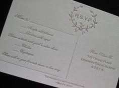 Image result for letterpress rsvp cards