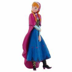 Ledové Království - Anna, figurka. Krásná figurka princezny Anny v zimním kabátku. Sběratelská figurka je malovaná a umí samostatně stát. Je klasicky měkce gumová a měří skoro 10 cm.