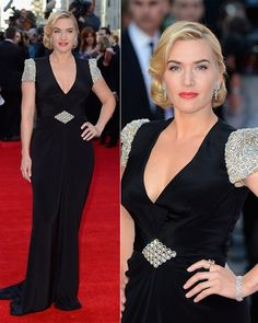 Kate Winslet at Titanic 3D in 2012. Amazing for 36 (my age at the time!) and a mother of two.