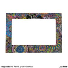 Shop Hippie Flower Power Magnetic Frame created by Liveandheal. Wedding Picture Frames, Wedding Pictures, Hippie Pictures, Magnetic Picture Frames, Calla Lily Wedding, Hippie Flowers, Hippie Peace, Cherished Memories, 6 Photos