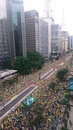 15/03/2015 #Manifestação #AcordaBrasil #VemPraRua 1 milhão de pessoas na Paulista!