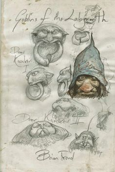 Do the Magic Dance with LABYRINTH Concept Art by Brian Froud « Film Sketchr