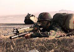 ROK Marine with K2 - South Korea - Wikipedia, the free encyclopedia