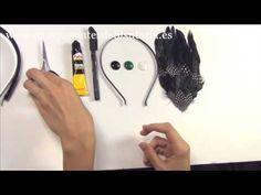 Abalorios Manualidades -Tutorial Tocado de Plumas ✄ http://www.youtube.com/watch?v=y1m7FTQnUdY