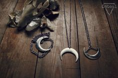 Osteal — Silver Moon - Three Styles http://osteal.bigcartel.com/product/silver-moon