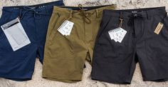 What to wear on your next adventure: introducing our All-Terrain Shorts Collection. The Transport Cargo Short & Prospect Service Short ft  quick-dry nylon ripstop, durable 2-way stretch, a reversible stow pocket, custom dry-bag & knot-tying book. We got you covered for land & sea. #brixton #allterrain
