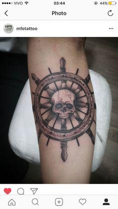 60 Ideas tattoo arm skull men day of the dead Cool Forearm Tattoos, Forearm Tattoo Design, Skull Tattoo Design, Leg Tattoos, Tattoo Designs, Pirate Girl Tattoos, Pirate Skull Tattoos, Pirate Tattoo, Stag Tattoo