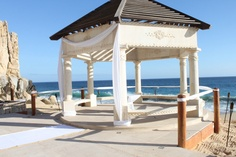 A beautiful wedding venue called The Grand Solmar Land's End Resort & Spa in Cabo, Mexico.