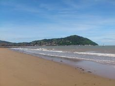 Minehead, Somerset - the weather wasn't quite so good when we went