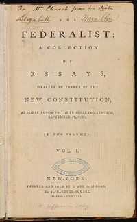 was a series of essays promoting ratification of the constitution The federalist papers are a series of 85 articles or essays promoting the ratification of the  york to support the ratification of the us constitution.