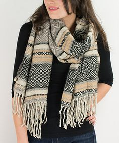Another great find on #zulily! Black Celtic Scarf #zulilyfinds