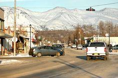 Palmer.  In the Matanuska valley where pat and Jim lived.