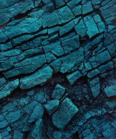 Colour inspiration - chalky textures and teal tones.