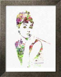 Audrey Hepburn 2 Kunstdrucke von NaxArt - bei AllPosters.ch