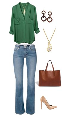 """""""Untitled #992"""" by netteskytte on Polyvore featuring Michael Antonio, Madewell, Nest and Lucky Brand"""