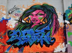dia de los muertos graffiti art - Google Search