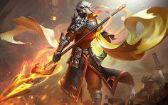 Warrior D D Characters, Fantasy Characters, Character Inspiration, Character Art, Character Design, Mobile Legend Wallpaper, Dragon Slayer, Mobile Legends, Fantasy Creatures