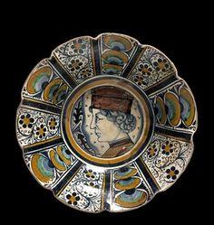 Italian majolica Pesaro bowl ca. 1475