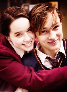 Anna Popplewell and William Moseley Narnia