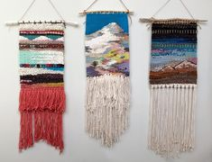 Cascade  weaving, 2014.     My husband says he can see my brain thinking as I work on a project. I'm particularly focused and driven at t...