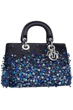Update as of September 2014 Introducing the Dior Fall/Winter 2014 Bag Collection. The collection first appeared in the Dior Runway Dior Handbags, Purses And Handbags, Dior Bags, Blue Handbags, Dior Purses, Dior 2014 Fall, Fall 2015, Sac Lady Dior, Cristian Dior