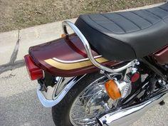 Restored Kawasaki - 1975 Photographs at Classic Bikes Restored - Kawasaki Motorcycles, Cars And Motorcycles, Crotch Rockets, Outdoor Fireplace Designs, Classic Bikes, Sport Bikes, Custom Bikes, Motorbikes, Japanese