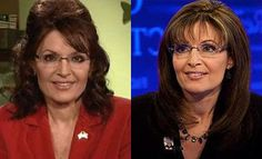 Grand ma is mad Sara Palin stole her hair do