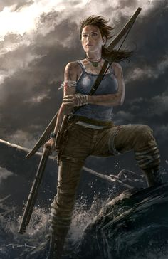 Tomb Raider Reborn Tomb raiders Raiders and Lara croft Tomb Raider Lara Croft, Tomb Raider 2013, Lara Croft Cosplay, Andy Park, Video Game Art, Video Games, Park Art, Fanart, Game Character