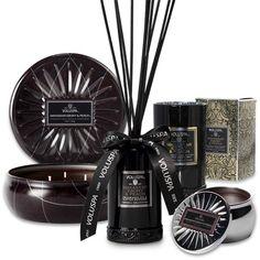 Luksuriøse duftlys og duftpinner fra Voluspa.