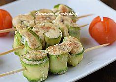Spiedini di pollo e zucchine - ricetta secondo piatto light