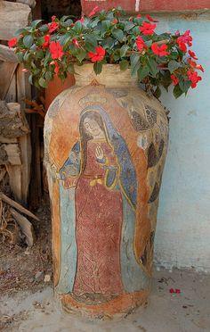 Guadalupe Vase Oaxaca