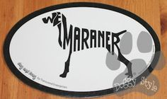 Euro Style Weimaraner Dog Breed Magnet http://doggystylegifts.com/products/euro-style-weimaraner-dog-breed-magnet