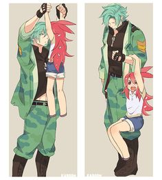 Flippy and younger looking flaky. Still adorable as hell Happy 3 Friends, Happy Tree Friends Flippy, Three Friends, Friend Cartoon, Friend Anime, Anime Love, Anime Guys, Htf Anime, Anime Couples Drawings