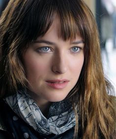 Dakota Johnson as Anastasia Steele in Universal's upcoming movie. | Fifty Shades of Grey | In Theaters Valentine's Day