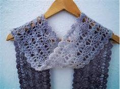 Résultat d'images pour Free Summer Crochet Scarf Patterns