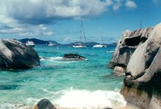 Boats and Boulders - Virgin Gorda - Photo