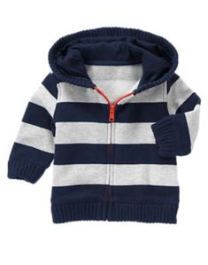 GYMBOREE SUNNY SPORTS BLUE elbow patch HOODED CARDIGAN SWEATER
