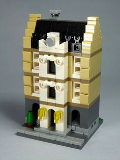 """LEGO Mini Modulars - MOC: """"Manor-house"""" 