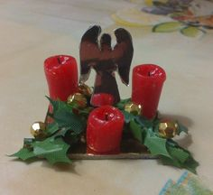 how to: mini Christmas centerpiece