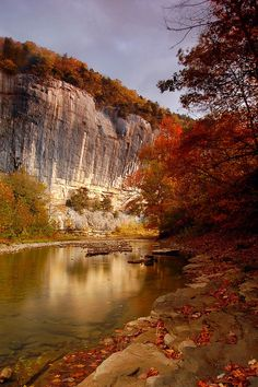 the colors are majestic Roark's Bluff, Ponca, Arkansas photo by Paul Martin