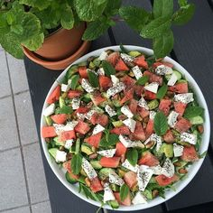 Salater Archives - Wall of Food Raw Food Recipes, Salad Recipes, Vegetarian Recipes, Healthy Recipes, Food N, Good Food, Food And Drink, Healthy Cooking, Healthy Eating