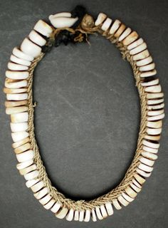 P2028200b reverse shell necklace New Guinea, Circa 1940's | Flickr - Photo Sharing!
