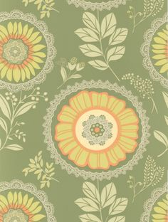 Lacework (50-150) is taken from Amy Butler's  wallpaper collection.