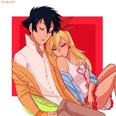 Ichijou and Chitoge from Nisekoi | Anime Couple