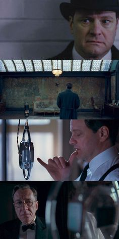 The King's Speech, Starring: Colin Firth, Geoffrey Rush and Helen Carter Bonham.