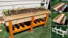 DIY Raised Planter Box - http://diytag.com/diy-raised-planter-box/