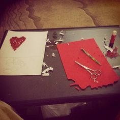 Valentines day preparation   #valentine #handmade #card #love