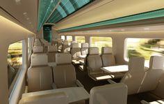 Modern Concept for High Speed Commuter Trains  Source - JPA Design