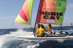 Autora: Regina Cameron per VelaBarcelona Títol: Navegar és velocitat Imatge enviada per correu electrònic